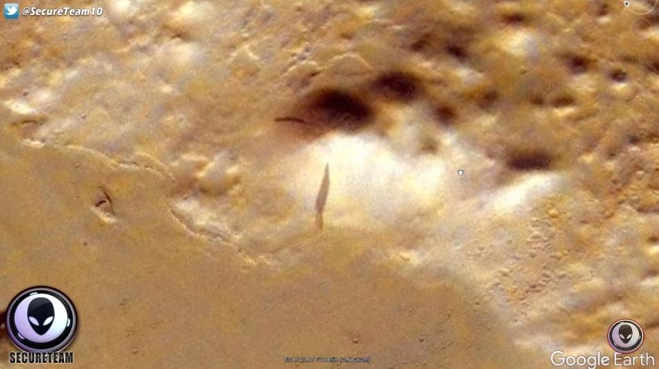 火星神秘影子2
