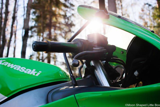 MoottoripyöräilyHarrastuksenaMoottoripyöräKyykkyKawasakiNinja-5