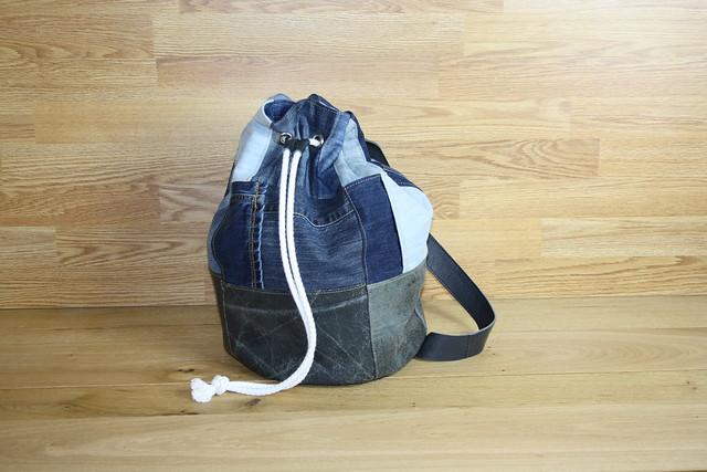 handgemaakte tassen, plunjezak