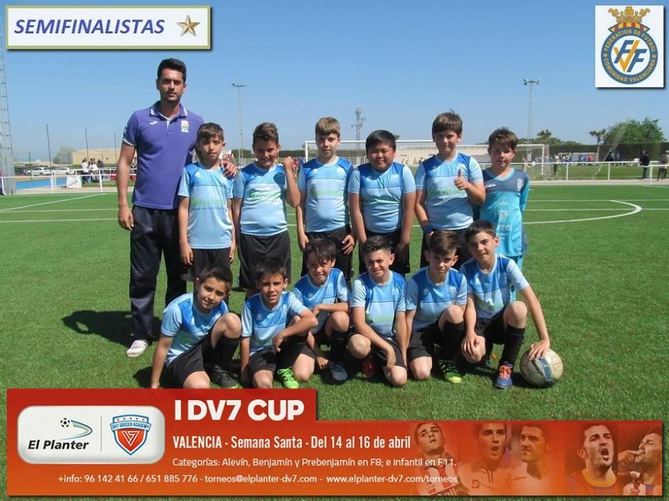 VII Copa Federación Fase** Benjamín