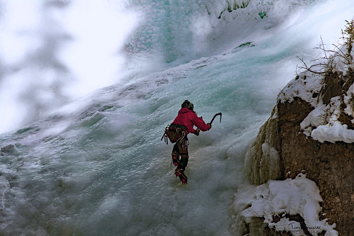 climbing Johnston canyon | by Tony_Brasier