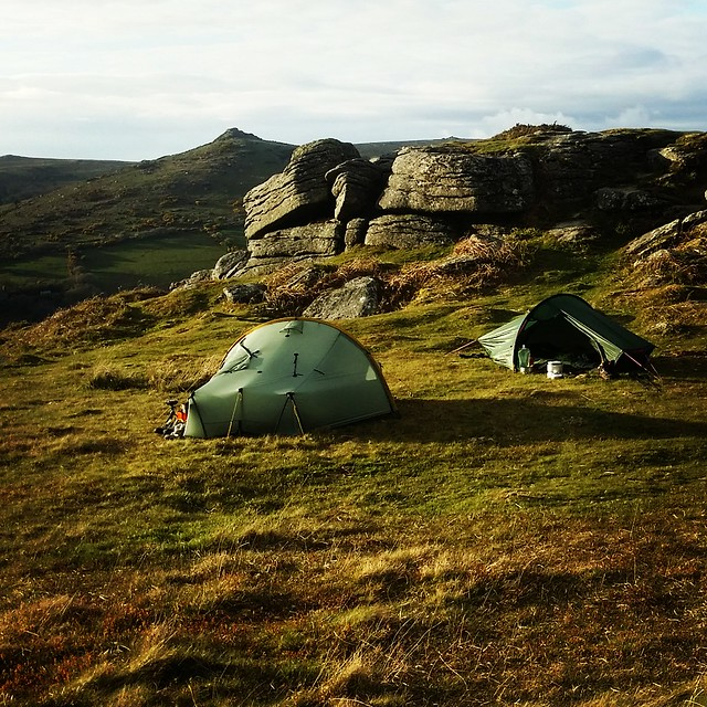 North Tor camp