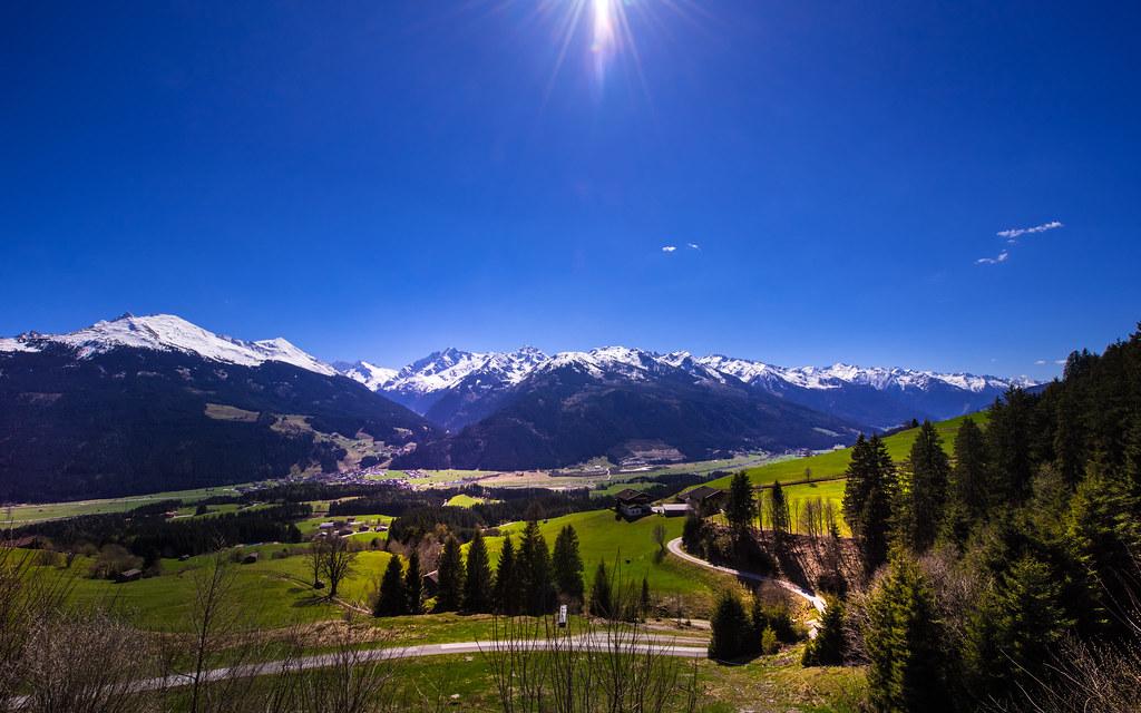 "View to ""Nationalpark Hohe Tauern"" - Austria"