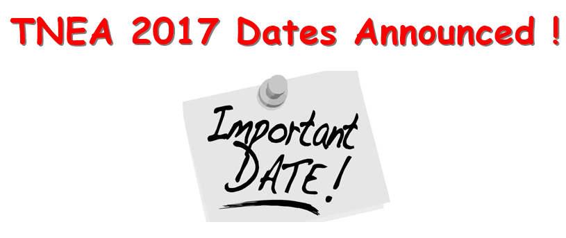 TNEA Dates