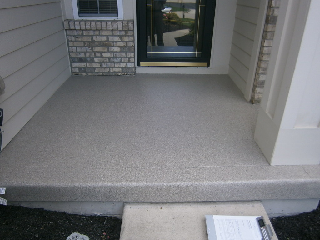 Front Porch Resurfacing Fort Wayne In Www Supremecrete
