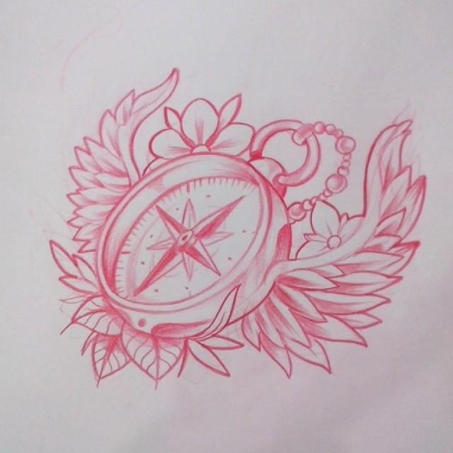 sketch br jula el tattoo de ayer tatuaje ta2 tattoo flickr. Black Bedroom Furniture Sets. Home Design Ideas