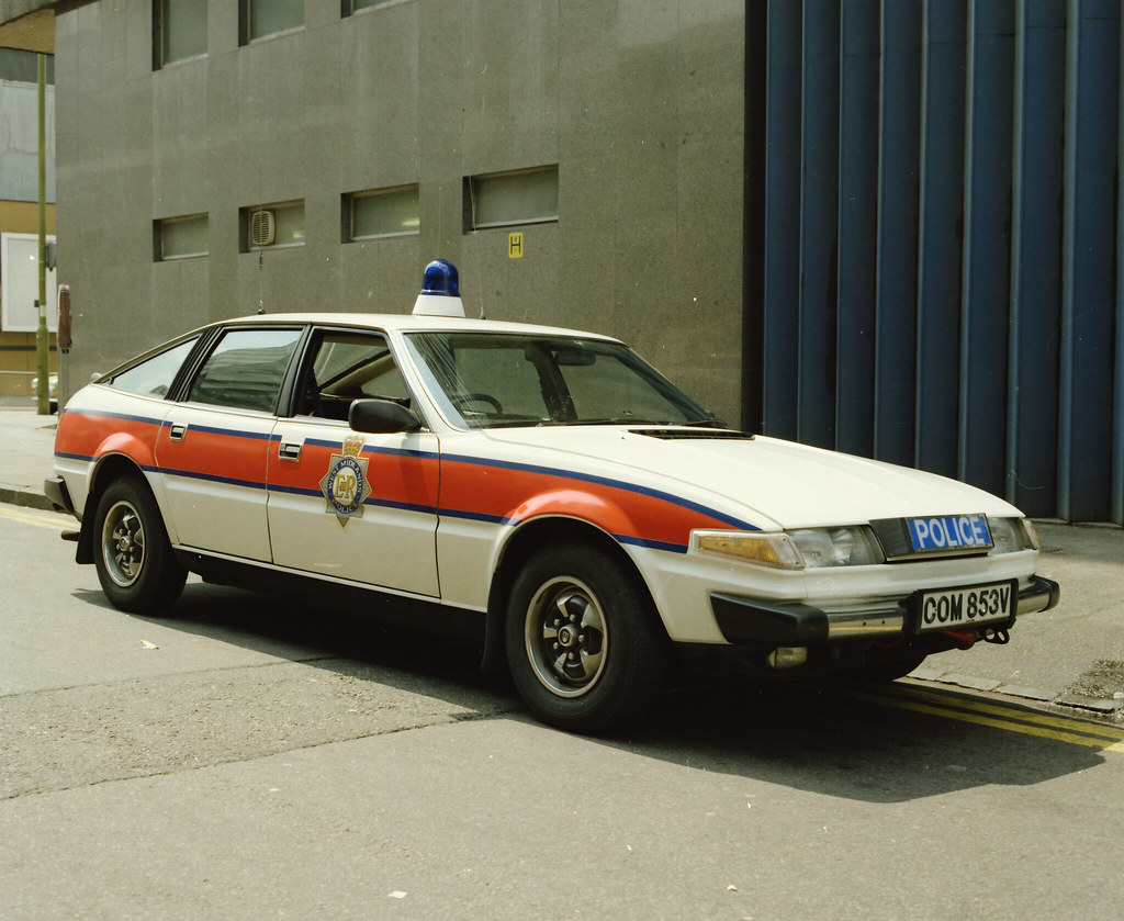 Day 118 West Midlands Police Rover Sd1 3500 This