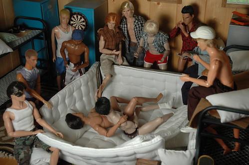 Tits Naked Men Sleeping Free Png
