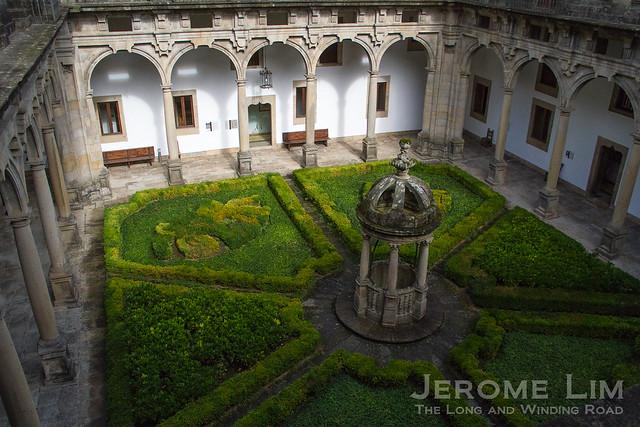 Parador Hostal Dos Reis Catolicos in Santiago de Compostela, built as a hospital in 1499.