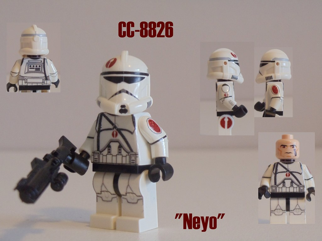 Custom Lego Cc 8826 Quot Neyo Quot Hey Guys Sorry For The