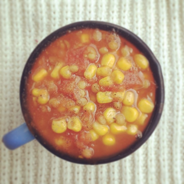 Home Made Lentil Soup With Beans Calories