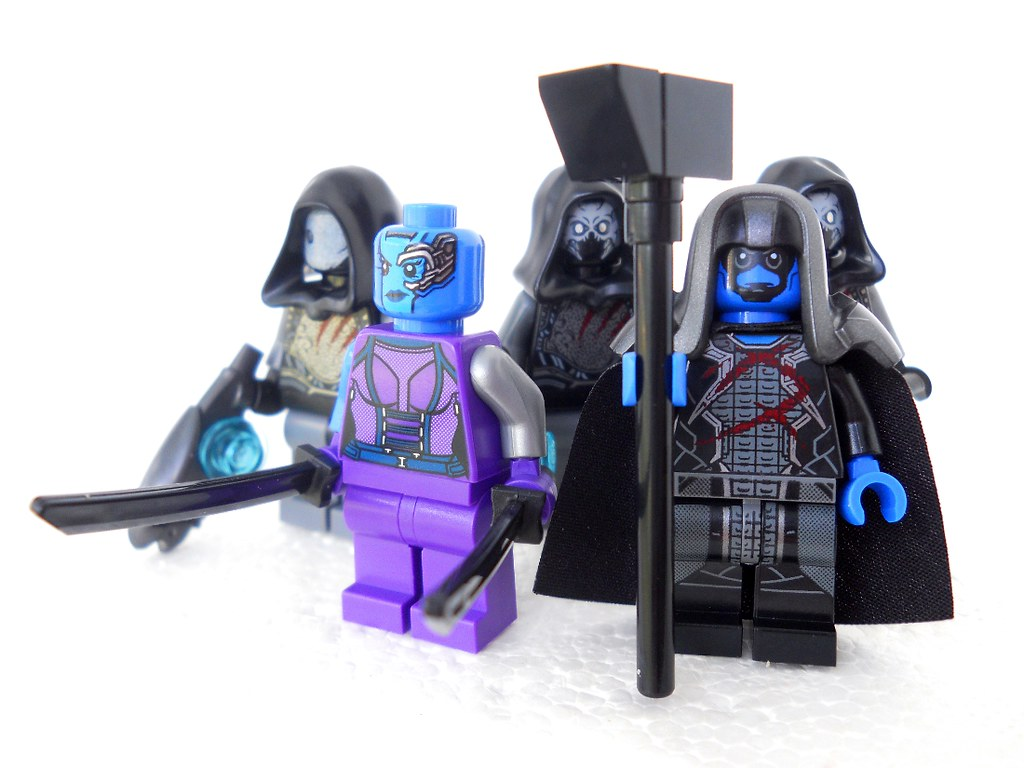 Lego Ronan the Accuser and Nebula | Homicide_Crabs | Flickr