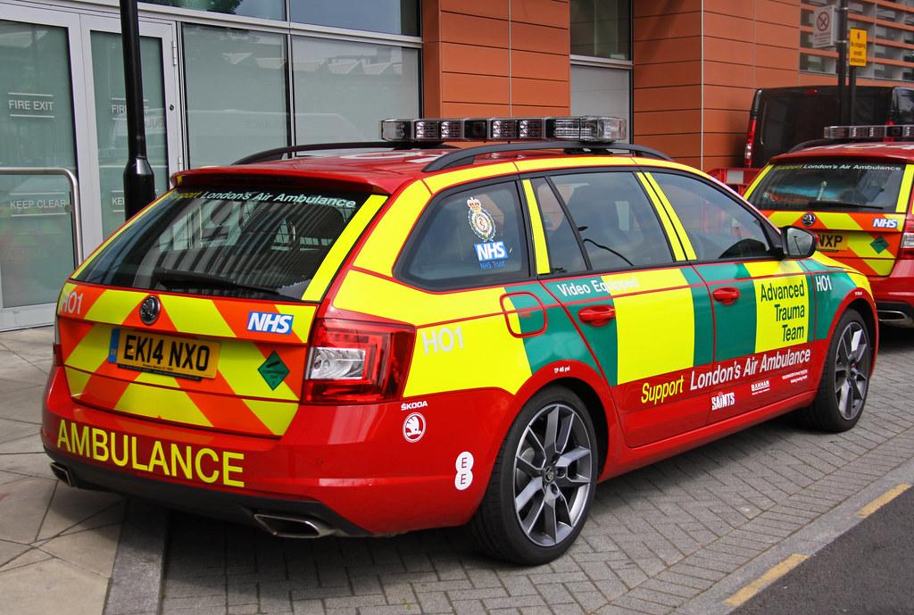 London Vehicle Finder >> London Air Ambulance Advanced Trauma Team Skoda Octavia VR… | Flickr