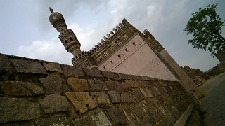 Mosque at Golconda Fort | by IndianTinker