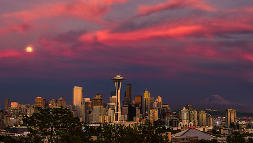 The Many Faces Of a Seattle Sunset #2 | by howardignatius