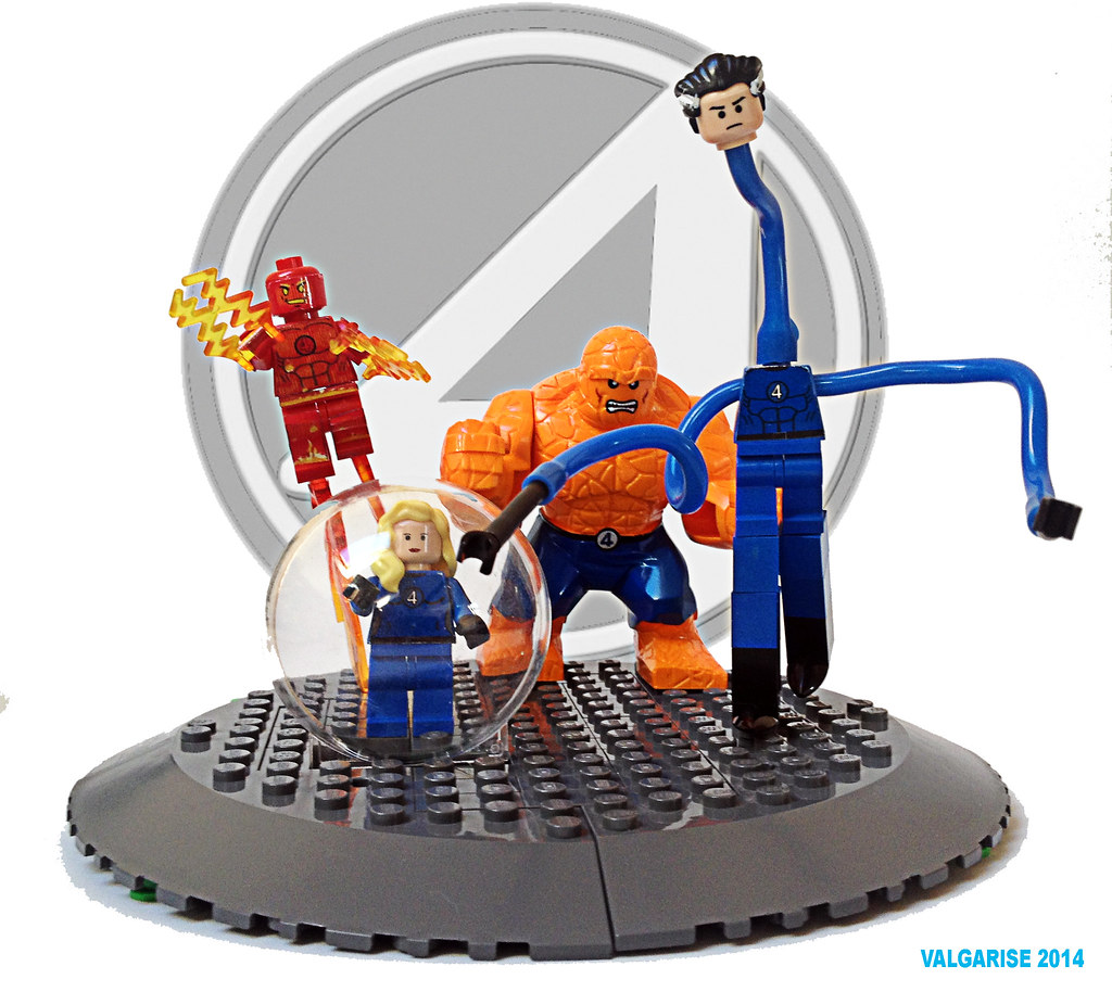 marvel lego fantastic four level