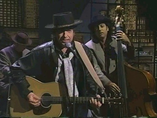 Resultado de imagen de Bob Dylan - Forever Young Live on David Letterman 1993