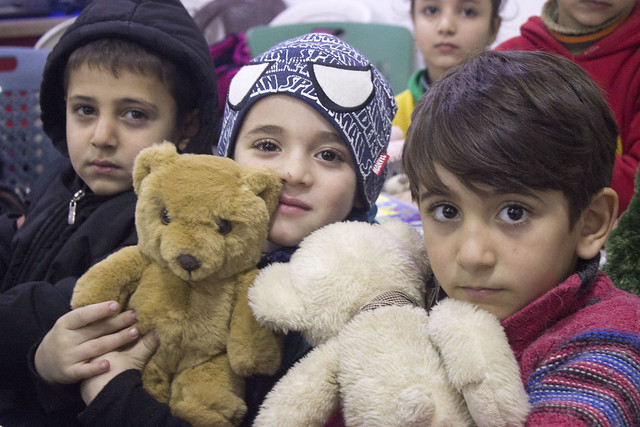 Teddy Bears for Syrian Children 2016
