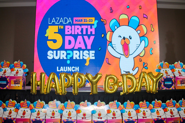 BIG SALE and Crazy Deals at Lazada's 5th Birthday on March 21 - 23!