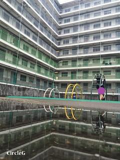 CIRCLEG 遊記 香港 石峽尾 南山邨 天空之鏡 倒影 特色邨屋 彩虹  (22)