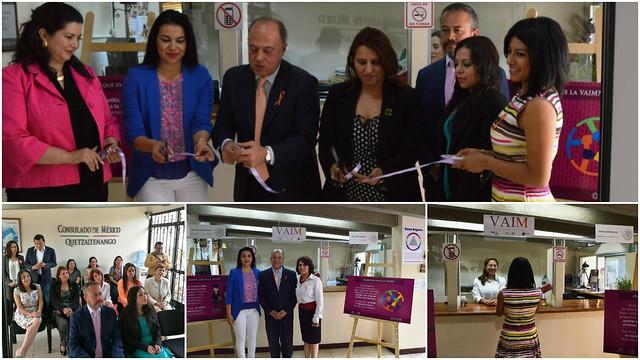 Anuncian lanzamiento de Ventanilla de Atención Integral para la Mujer en Quetzaltenango