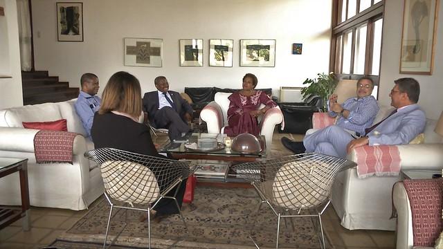 Secretária Executiva em visita oficial à Guiné-Bissau