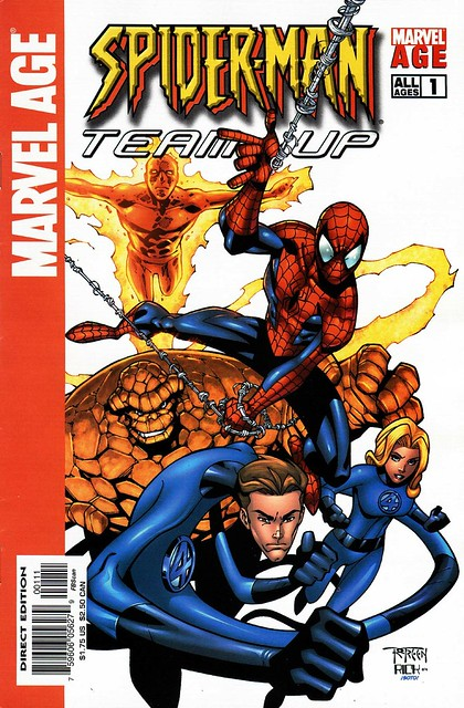 Marvel Age Spider-Man Team-Up