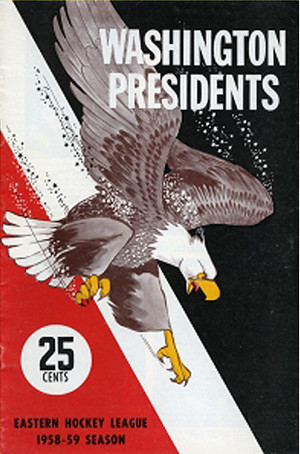 Washington Presidents 1958-59 program | by spyboylfn