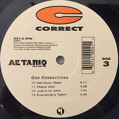 AL' TARIQ:GOD CONNECTIONS(LABEL SIDE-C)