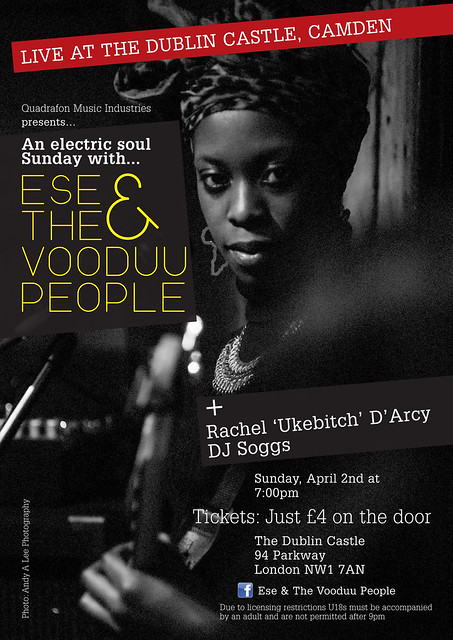 Poster for Ese & The Vooduu People