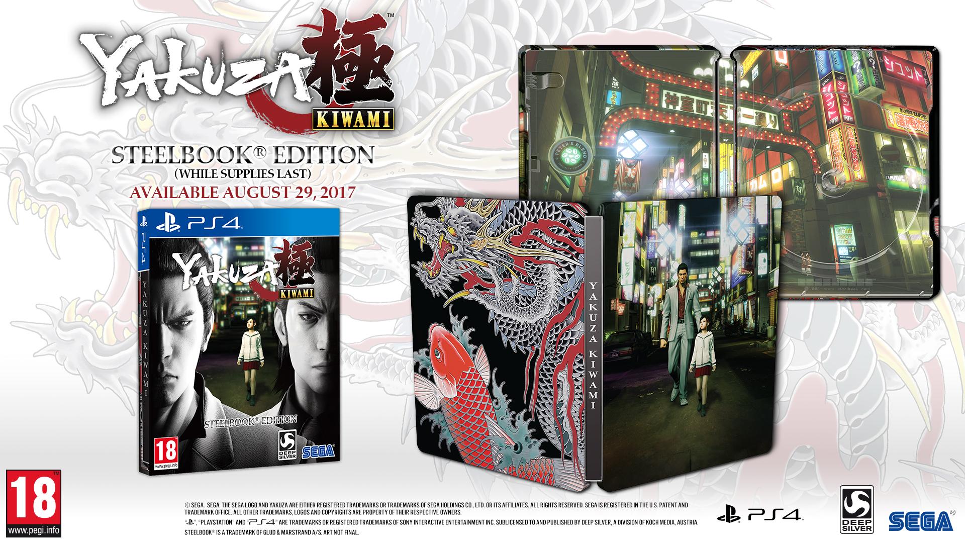 Classic open-world crime remake Yakuza Kiwami gets a PS4 release