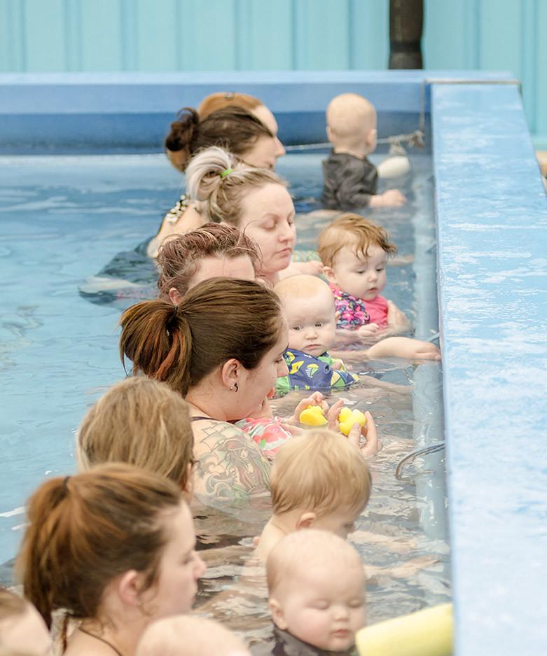Plunket Babyschwimmen in Neuseeeland