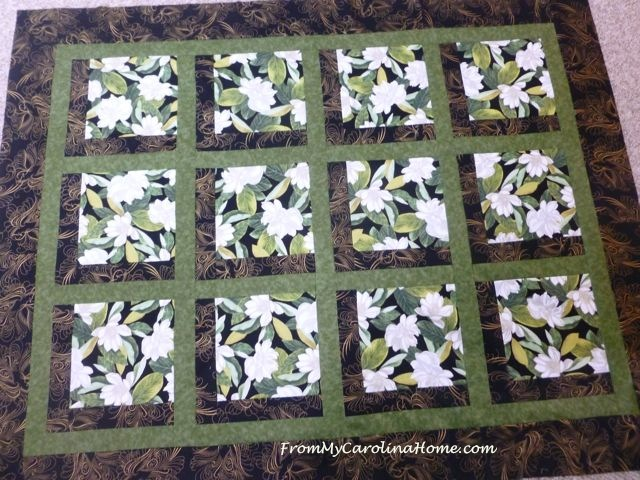 Magnolia Quilt ~ From My Carolina Home