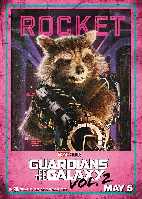 Guardians of the Galaxy Vol 2 (2017) poster Rocket