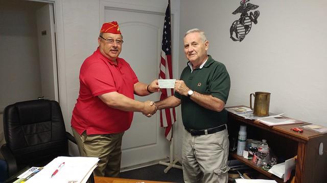 The Villages Marine Corps League Donation