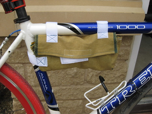 Bike lock bag