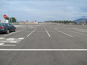 SCL estacionamiento Maiten (Nuevo Pudahuel)