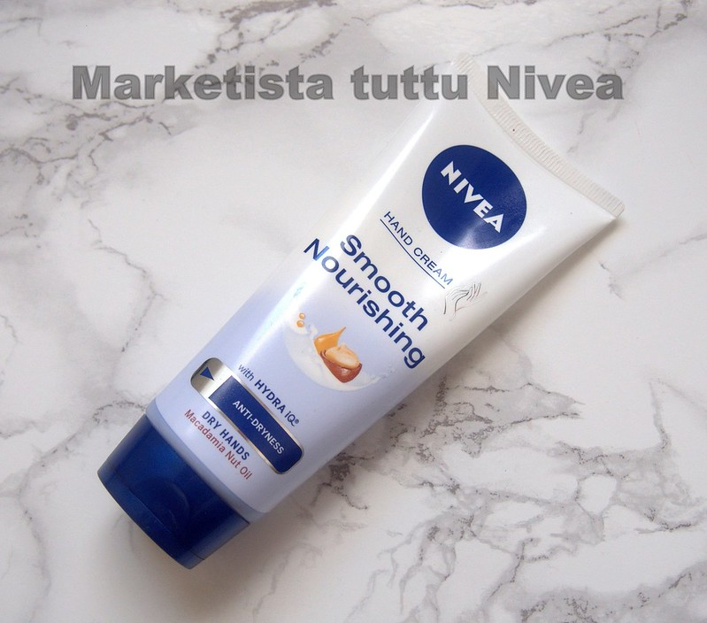 Nivea Smooth Nourishing käsivoide