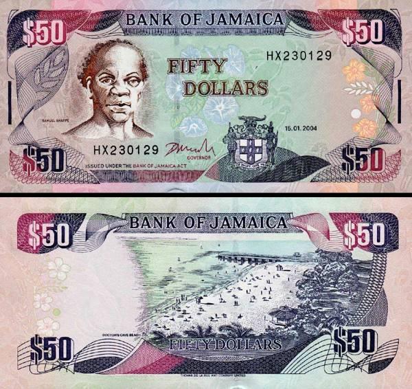 50 Dolárov Jamajka 2004, P79e