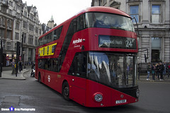 Wrightbus NRM NBFL - LTZ 1018 - LT18 - Hampstead Heath 24 - Metroline - London 2017 - Steven Gray - IMG_8653