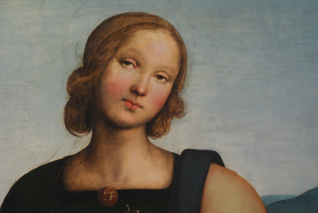 Mystérieux portrait présenté à la Pinacothèque de Bologne.