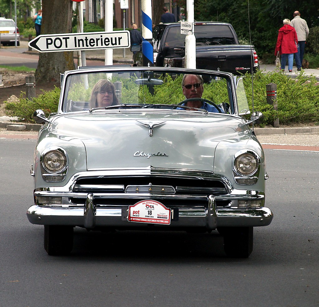 1954 Chrysler New Yorker Oldtimer Festival Axel Zeeuws Flickr Vlaanderen By Vriendelijkheid Kost