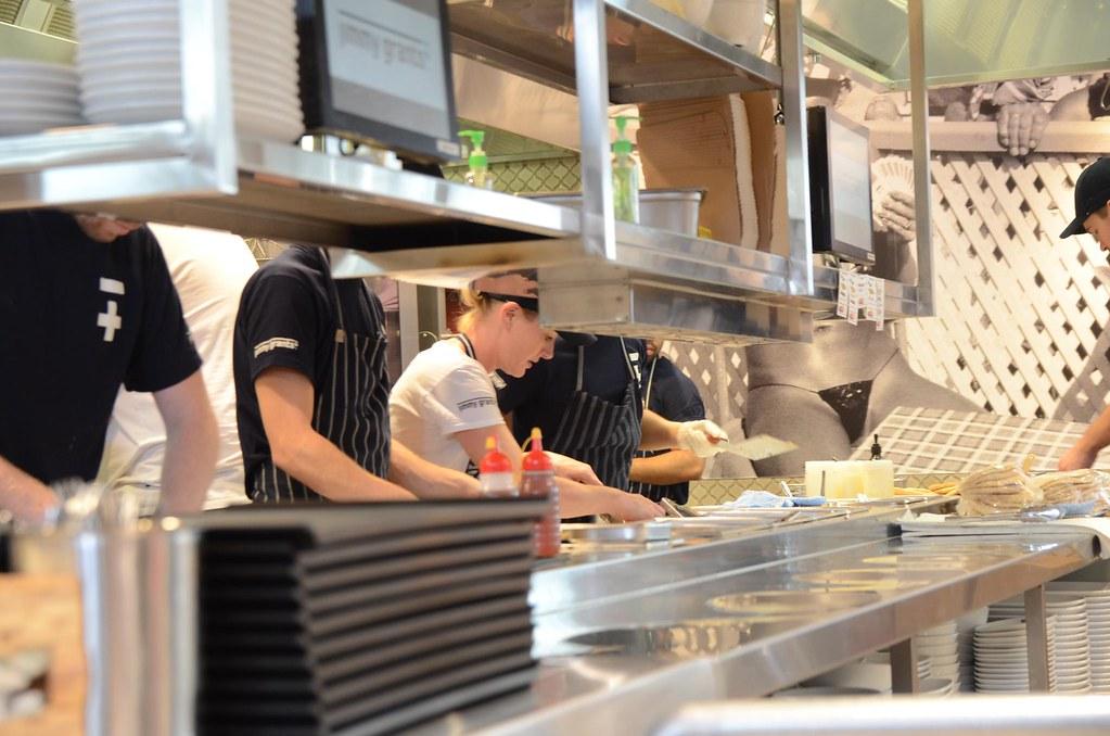 Busy Open Kitchen Jimmy Grants Emporium Melbourne Flickr