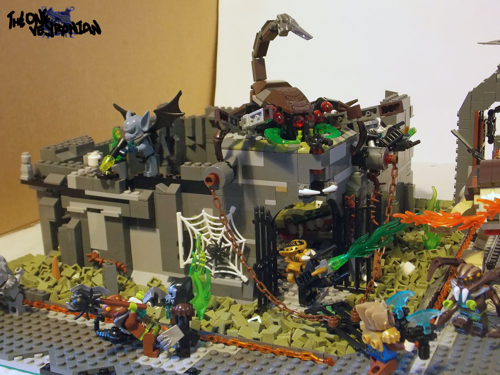 Lego chima scorpion palace ruins raid 3 you may remember flickr - Image de lego chima ...