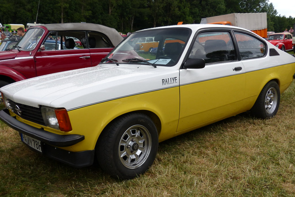 Opel kadett c rallye 2.0