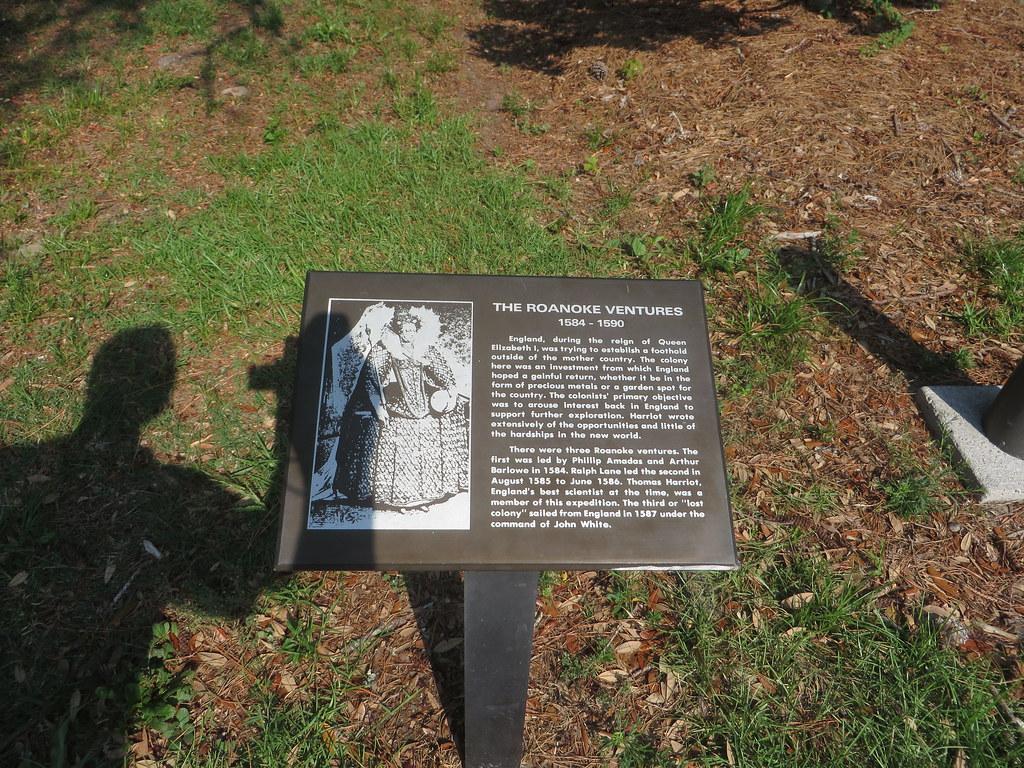 Roanoke Colony Fort