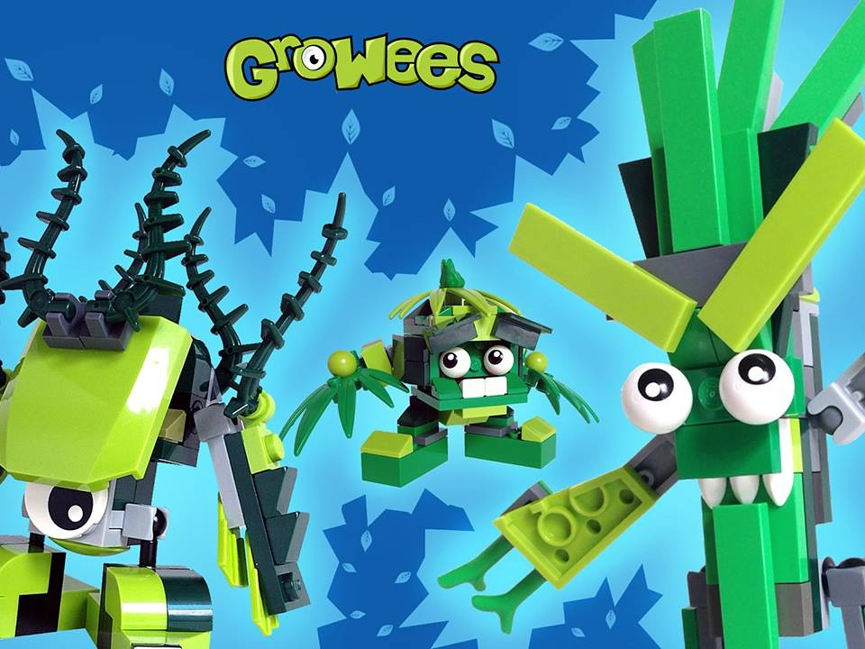 LEGOJay's new mixel tribe Growees! Vote for them on the LE… | Flickr