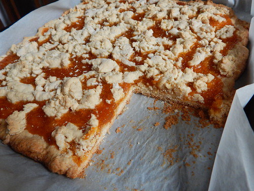 песочный пирог с вареньем по рецепту Лиззеты | horoshogromko.ru
