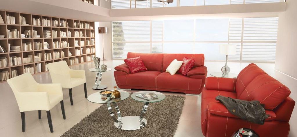 Muebles placencia sala bonded rosso placencia muebles for Adornos para muebles de sala