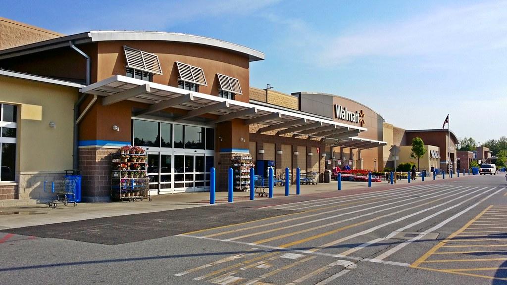 Walmart in laurel maryland walmart supercenter in for Fishing license md walmart
